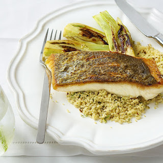 Fish and Fennel with Cumin and Lime Couscous