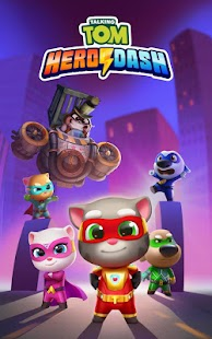 Talking Tom Hero Dash - Run Game Screenshot