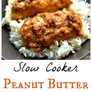 Slow Cooker Peanut Butter Chicken