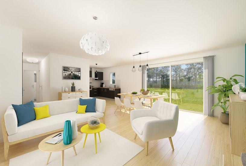 Vente Terrain + Maison - Terrain : 363m² - Maison : 83m² à Ambillou (37340)