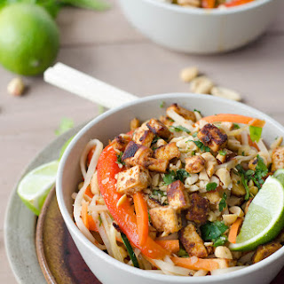 Spicy Vegan Pad Thai