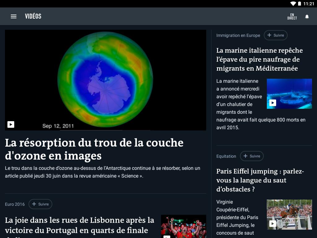 Le Monde, l'info en continu screenshot #12