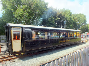 Photo: 022 The other end of Ffestiniog 1st class saloon coach 150, built at Boston Lodge to commemorate the 150th anniversary of the railway. Absolutely superb !
