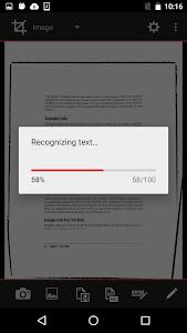 Scantex - OCR and PDF scanner screenshot 2