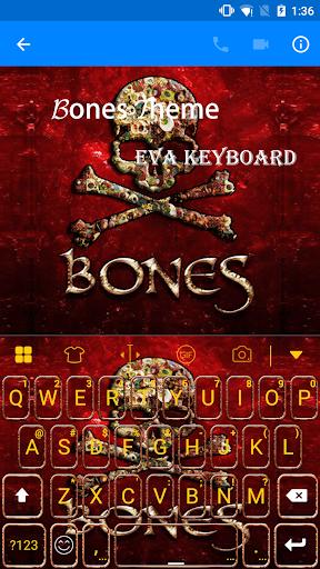 玩免費遊戲APP|下載Skull Bones Eva Keyboard -Gifs app不用錢|硬是要APP