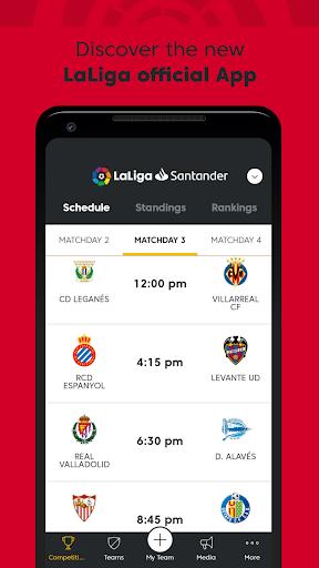 La Liga - Spanish Soccer League Official 7.0.7 screenshots 1
