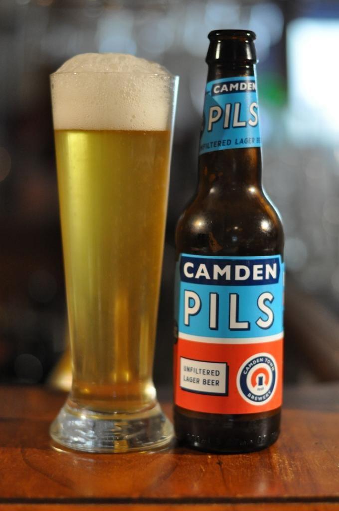 199 Camden Pils - Light for Pils, so fantastic 5/5 (25/09/2015) | Beer,  British beer, Lager beer
