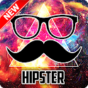 Hipster Wallpaper icon