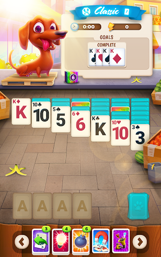 Solitaire Pets Adventure - Free Classic Card Game 2.7.175 screenshots 15