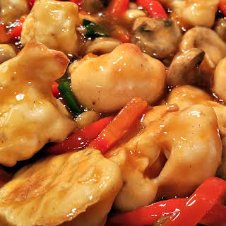 Vegan Orange Chicken.