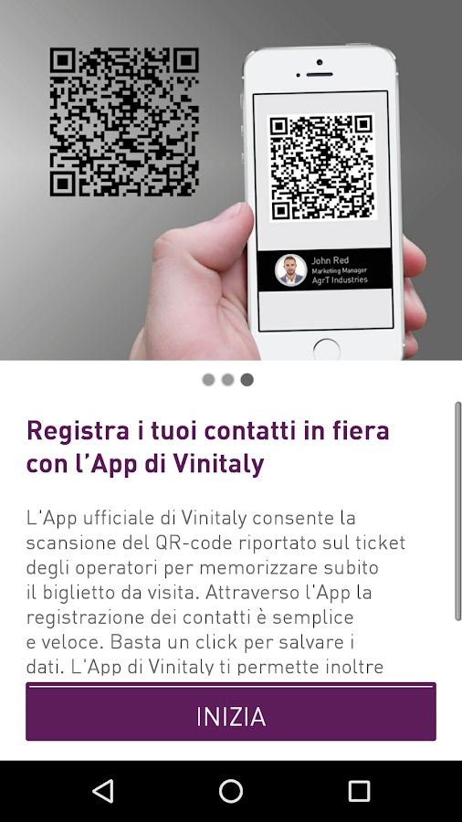 Vinitaly- screenshot