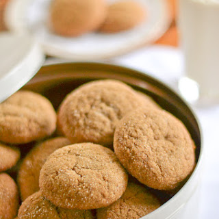 Old-Fashioned Chewy Ginger Cookies