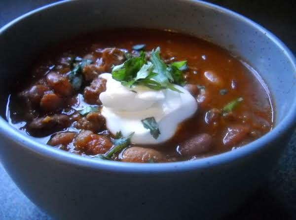Smokey Tex-mex Chili Recipe
