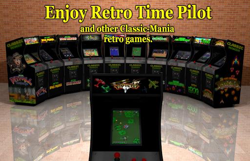 Retro Time Pilot Arcade apkpoly screenshots 8