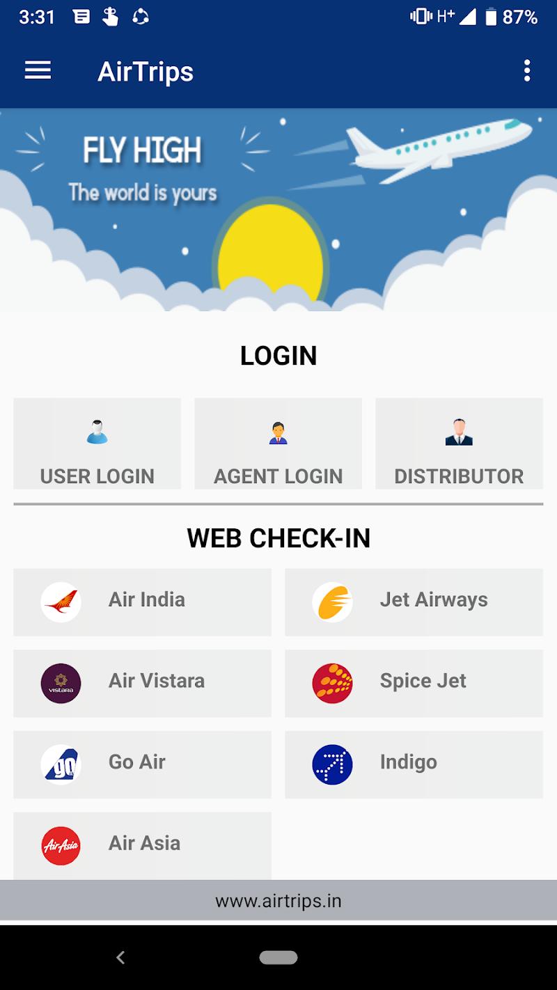 Скриншот Airtrips