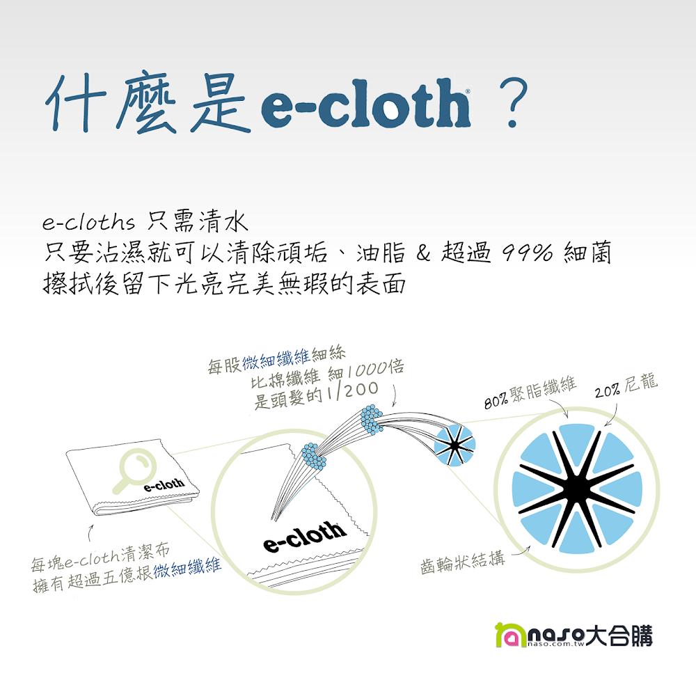 英國e-cloth 深層清潔抗過敏輕量級拖把