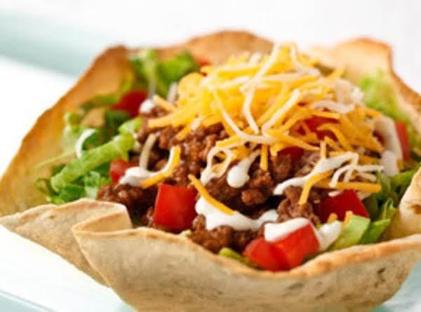 Weeknight Leftover Taco Salad