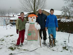 Photo: Testigos de la gran nevada 2010