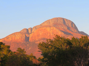 Photo: Sunrise over Blyde Canyon, South Africa