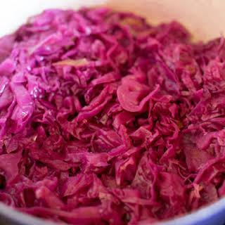 German Red Cabbage No Sugar Recipes.