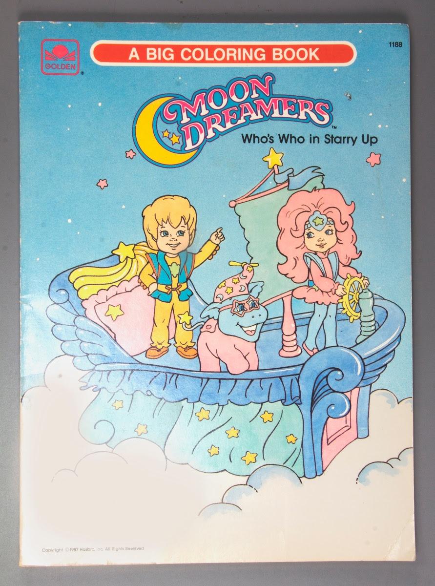 Coloring book:Golden A Big Coloring Book: Moon Dreamers ...