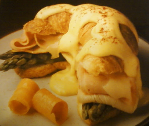 Curried Turkey And Ham Croissant Recipe