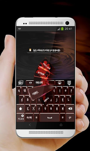 【免費個人化App】萬聖節花 GO Keyboard Theme-APP點子
