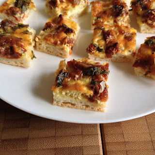 Flat Quiche Bites – Downgrading a Full-Blown Quiche! Recipe