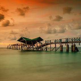 Old Bridge by Imal Prayitno - Landscapes Beaches
