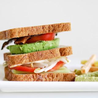 The Ultimate Vegetarian Sandwich {Udi's Multigrain Bread}.
