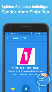 Simple Radio - Kostenlose Live AM UKW Radio Sender Screenshot