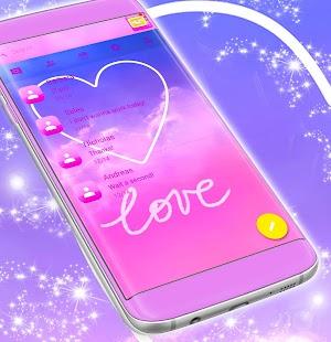 Zdarma 2017 Love SMS téma - náhled