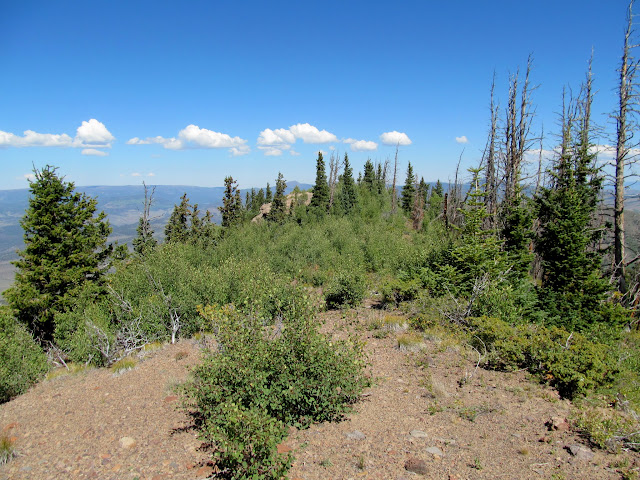 Hen's Hole Peak summit