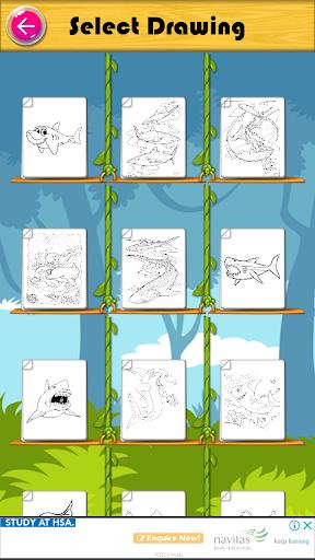 Mewarnai Buku Baby Shark 2.0.1 screenshots 1