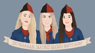 Selección de los retratos personalizados que ha dibujado Paula García durante la pandemia.