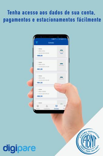 Digipare: Blue Zone Parking - Mobile Pay  screenshots 3
