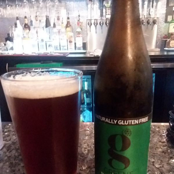 GF beer that tastes like real beer!    And great pizza too!