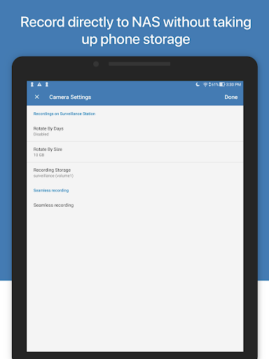 Synology LiveCam screenshot 11