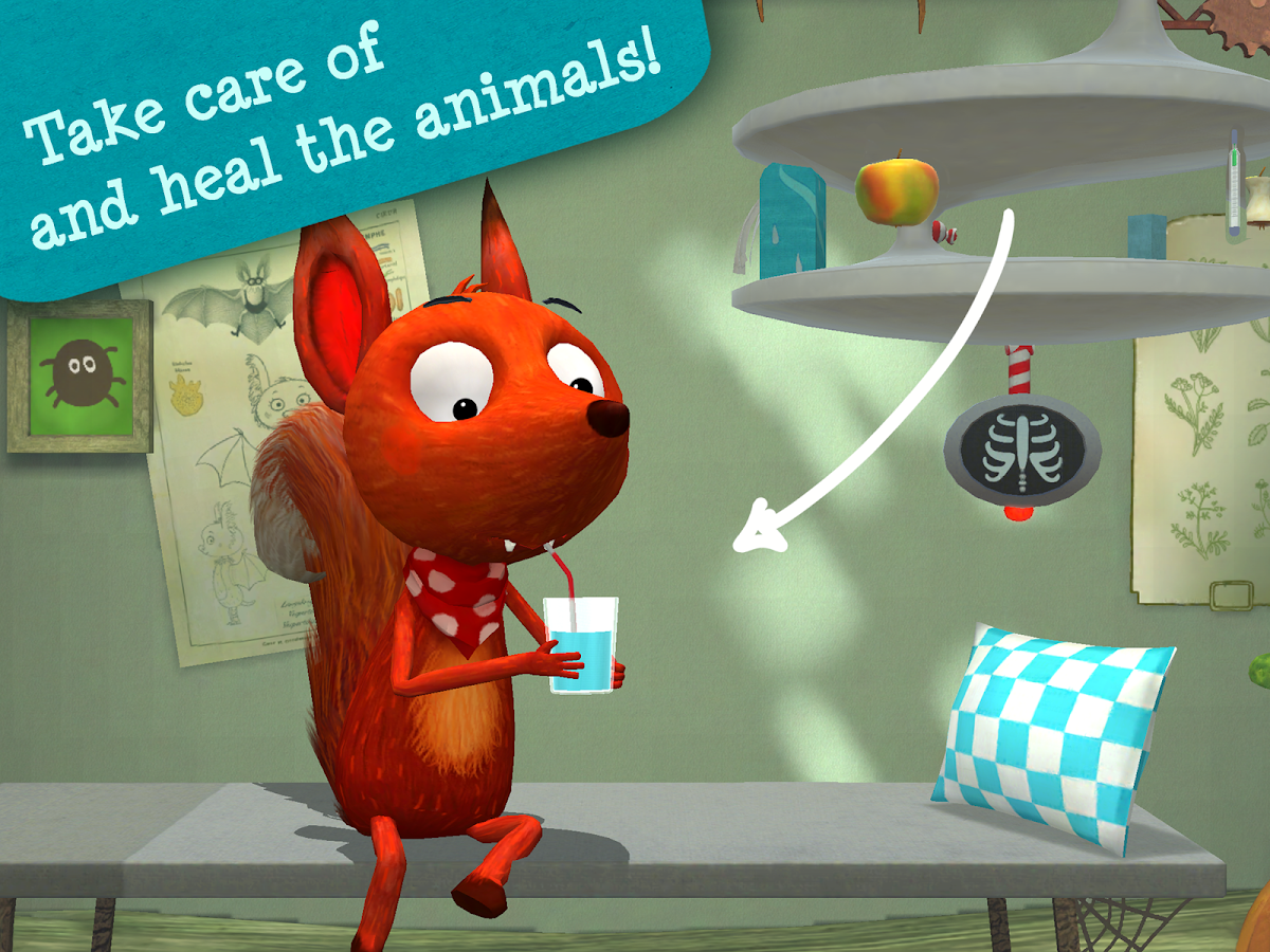 Little Fox Animal Doctor- screenshot