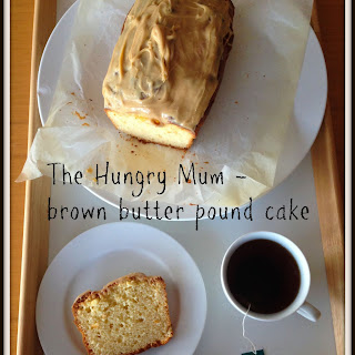 Donna Hay brown butter pound cake