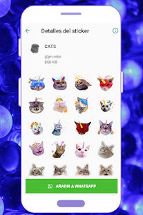WAStickerApps Cats Crazy Screenshot