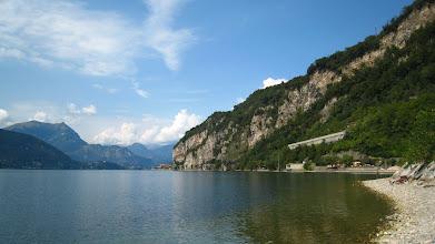 Photo: Lake Como was calm
