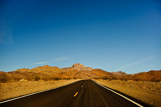Photo: Death Valley from the car