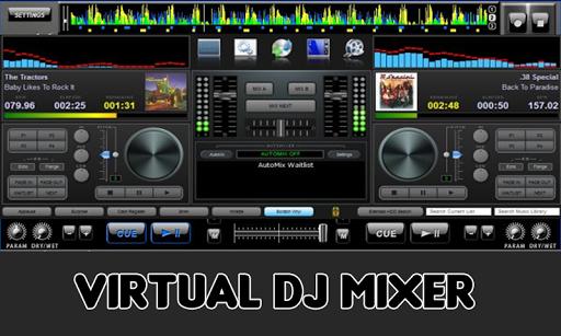 Virtual DJ Music Mixer for PC