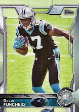 Photo: Devin Funchess 2015 Topps RC
