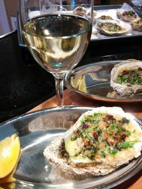 """Click Here for Recipe: Oysters Rock Your Fella """"When your multiple award..."""