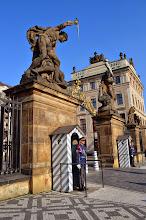Photo: Prague - inside the castle gates
