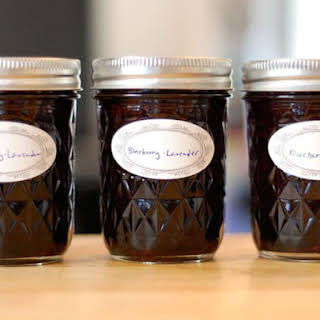 Blueberry Lavender Jam.
