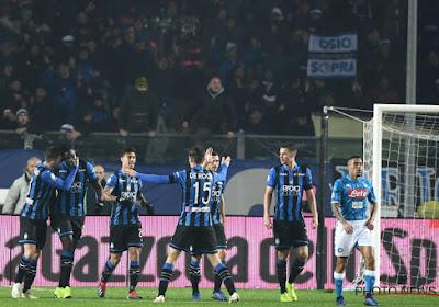L'Atalanta de Timothy Castagne l'emporte face à la Lazio de Jordan Lukaku