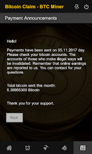 Bitcoin Free Claim - BTC Miner - náhled